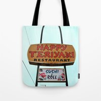 Happy Teriyaki Tote Bag