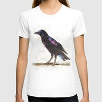 Blackbird Womens Fitted Tee White SMALL