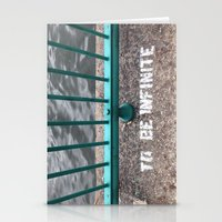 To Be Infinite Stationery Cards