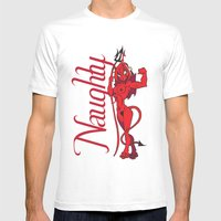 She Devil Mens Fitted Tee White SMALL