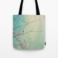 Bluebird Blue Tote Bag