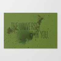 Forged in the Stars Canvas Print
