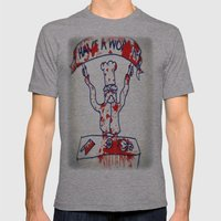 Swedish Chef Unrated Mens Fitted Tee Athletic Grey SMALL