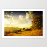 Surreal October Art Print