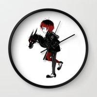 Dragon Girl Wall Clock
