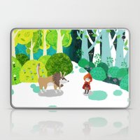 Red Riding Hood And The … Laptop & iPad Skin