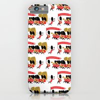 Play that funky music soldier boys! iPhone 6 Slim Case