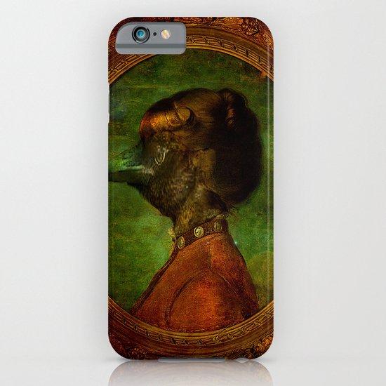 Miss Crow iPhone & iPod Case