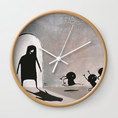 Sadclops Wall Clock