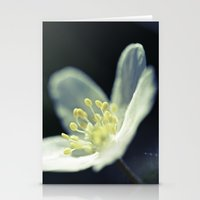 Wood Anemone Stationery Cards