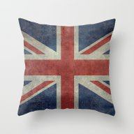 England's Union Jack (3:… Throw Pillow