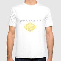 Custom Logo - Farah K. Mens Fitted Tee White SMALL