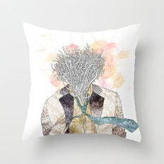 The one with head Throw Pillow