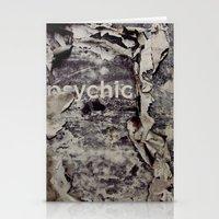 Peeling: Psychic Stationery Cards