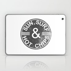 Sun, Surf And Hot Chips! Laptop & iPad Skin
