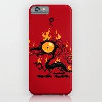 iPhone & iPod Case featuring Backfire by John Schwegel