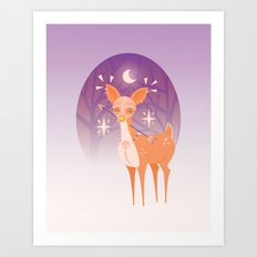The Doe Art Print