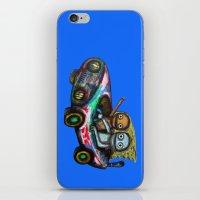 A trip by car iPhone & iPod Skin