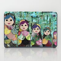 Matryoshka Nesting Dolls iPad Case