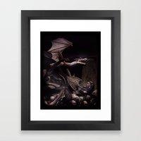 Dearg Doom The Dragon Sl… Framed Art Print