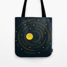 Moon And Stars Dream Tote Bag