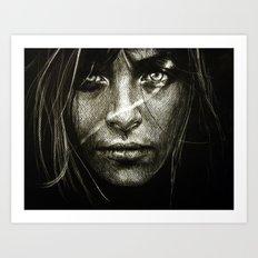 Shudder (VIDEO IN DESCRIPTION!!) Art Print