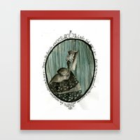 Cameo Framed Art Print
