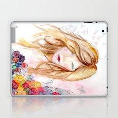 lady in bloom  Laptop & iPad Skin