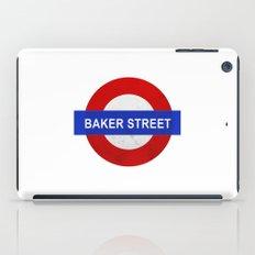 Sherlock Baker Street Print iPad Case