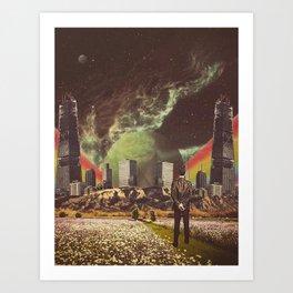 Art Print - Brave New Worlds - TRASH RIOT