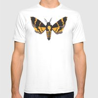 Deaths Head Mens Fitted Tee White SMALL