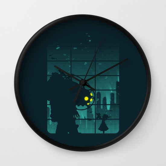 Come on, Mr. Bubbles! Wall Clock
