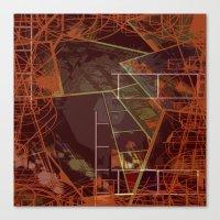 Geometric Speculation Canvas Print