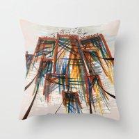 The City Pt. 5 Throw Pillow