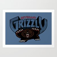 Revenant Grizzly Art Print