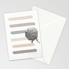 Vague as a Fog Stationery Cards