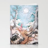 The Tale of Cat and Fawn Stationery Cards