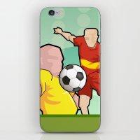 Soccer game iPhone & iPod Skin