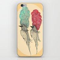 Bouffant Birds iPhone & iPod Skin