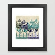 Two Worlds Framed Art Print