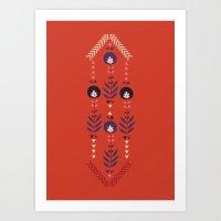 Flora Nativa Art Print