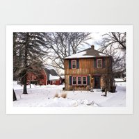 Country Charmer Art Print