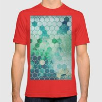 Chemistry Mens Fitted Tee Red SMALL