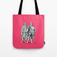Classic men have a party Tote Bag