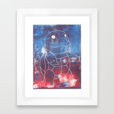Squirtle Framed Art Print