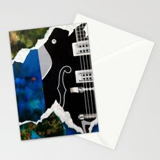 Music Triptych: Guitar Stationery Cards