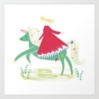 A Fairy Tale  Art Print