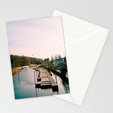 Winter Docks  Stationery Cards