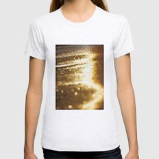 spun gold Womens Fitted Tee Ash Grey SMALL
