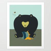 HunnyBear Art Print